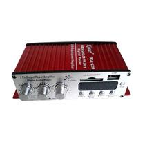 Mini Modulo Amplificador Kinter Ma-120 2ch + 2 Auto Falantes