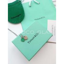 Tiffany Collar De Corazón Con Bolsa Y Certificado