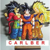 6 Centro De Mesa Goku Dragon Ball Z En Fibrofacil