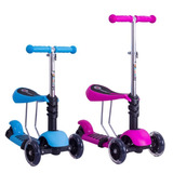Monopatin Scooter 3 En 1 Patineta