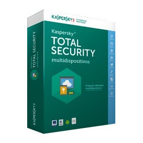 Kaspersky Total Securitty 2017-2018 Original® 1 Pc 1 Ano
