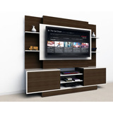 Mueble Tv Lcd Led Modular Rack Living Melamina 2x1.7x0.4m