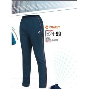 Pantalon/pans Deportivo P/hombre Charly Azul Marino 824-99