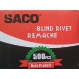 Remache 1/8 X 5/16 #43 Saco 500unidades Somos Tienda -