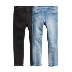 Leggings De Jeans H&m Nena Pack 2 Unidades