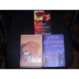 Lote De John Grisham Vea Títulos Debajo (3) Libros ++oferta*