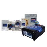 Máquina De Fazer Carimbos 5 Min Stampset, Kit Grátis 12xs/j