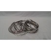 50 Tiaras ( Preta )( Niquel ) Metal 4mm Lisa Pacote Atacado