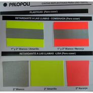Tela Reflectiva Ignifuga Lisa/combinada5cm Palopoli Iram3859