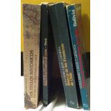 Historia De Las Fronteras De Chile. 4 Libros.