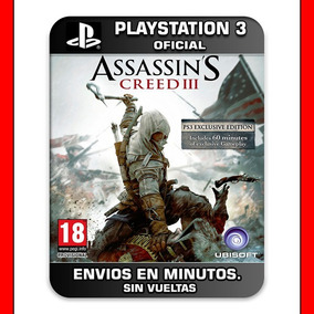 Assassins Creed 3 Ps3 :: Digital :: Original Español