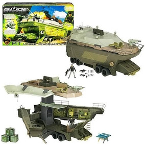 Gi Joe Veiculo Base Pit Mobile Headquarter