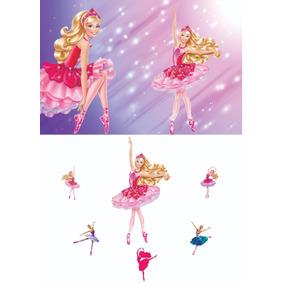 Kit Painel 1,5 X 1m +6 Displays Barbie Sapatilha