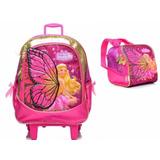 Kit Mochilete + Lancheira Barbie Butterfly P - Sestini 06309