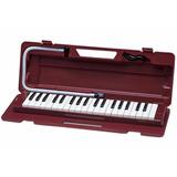 Pianica Melódica Yamaha De 37 Teclas P37d Color Vino