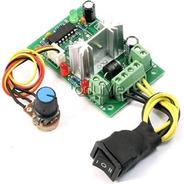 Controlador Velocidade Motor Cc 6-30v Reversível Pwm Dimmer
