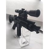 Arma Rifle Tipo M16 Airsoft 6mm Deporte Potente + Mira