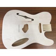 Corpo Guitarra Modelo Tele Thinline Maple
