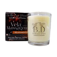 Vela Para Massagem Candle Massage Corporal Natural -10un