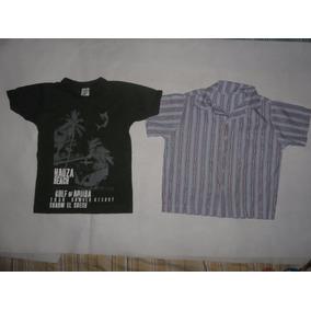 Lote Camisetas E Calça Tam 3 Carinhoso E Outros
