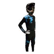 Conjunto Motocross/enduro Rpm Arg Negro. En Gravedadx