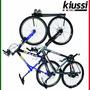 Suporte 2 Bicicletas Pendurar Parede Preto Wall Rack