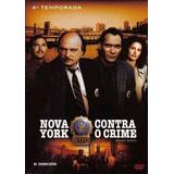 Nova York Contra O Crime 4 ª Temp Box Com 6 Dvs Lacrado