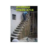 Escada Pre Moldada De Concreto Fabricada Em Cimento Pronta!!