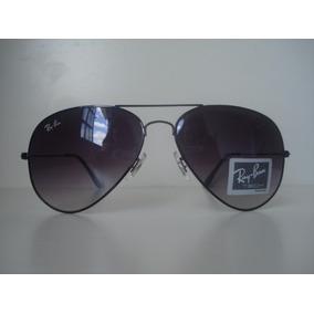 Óculos De Sol Estilo Aviador Grafite Lente Fume Degrade-7580
