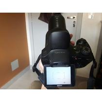 Câmera Cybershot Dsc-hx300 Com Bolsa E Nota.