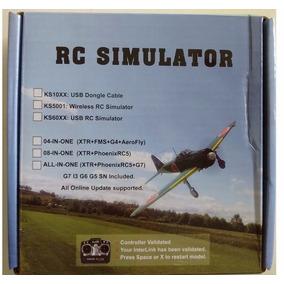 Cabo Simulador De Vôo Rc-12em1-phoenix, Realflight E Outros