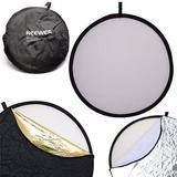 Pantalla Reflectora Rebote Neewer 5 En 1 Foto 60cm Con Bolso