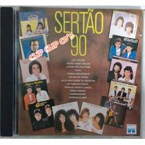 Cd Sertão 90-coletânea Sertaneja-1990 João Mineiro E Marcia