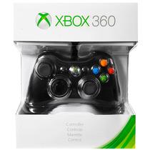 Controle Com Fio Xbox 360 Preto Original Microsoft Lacrado