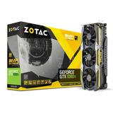 Tarjeta De Video Zotac Geforce Gtx 1080 Ti Amp Extreme 11gb