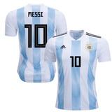 Camiseta Argentina Messi Mundial 2018 Climalite Original