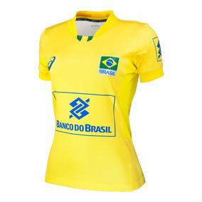 Camisa Oficial Seleção Brasileira Volei - Asics F Original