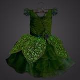 Disney Store Fantasia Tinker Bell Acende Vestido Tam 5-6t