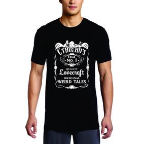 Camiseta Cthulhu Jack Daniels