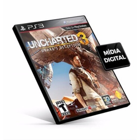 Uncharted 3 Ps3 Psn Português Midia Digital Envio Rapido