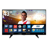 Televisor Tv Led Aoc Smart Wifi Full Hd 43