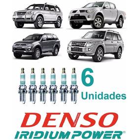 Jogo Cabo 8mm + 6 Velas Iridium Pajero Sport V6 3.5 3.0 24v