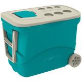 Caixa Térmica 50lt C/roda Azul Soprano