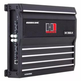 Módulo Amplificador Hurricane H1 360.4 1440w Rms 4 Canais