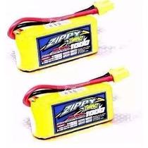 2x Lipo Bateria 1000mah 3s 25c 11.1v Zippy Compact