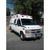 Ambulancias Chevrolet Express Años 2000