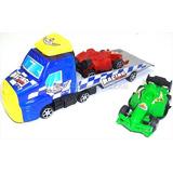 Carro Camion Grua De Juguete 2 Carros Catapulta Plataforma