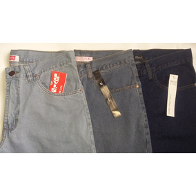 Calças Jeans- Leviss -elluss - Ck- Outra - Kit C 3 Unidades cd2ec232dde