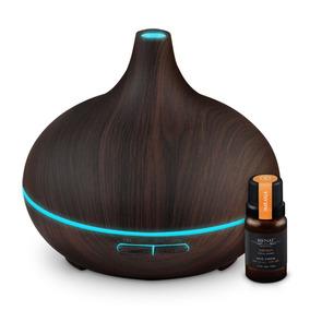 Humidificador Difusor De Aromas 300ml + Aceite Esencial