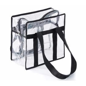 Bolsa Sacola Plástica 30mm Transparente Pequena 27 X 26